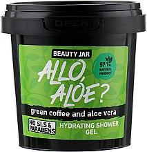 """Parfumuri și produse cosmetice Gel de duș """"Allo, Aloe?"""" - Beauty Jar Hidrating Shower Gel"""