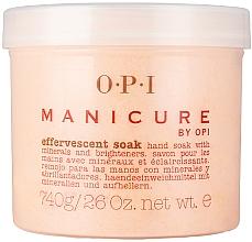 Parfumuri și produse cosmetice Sare efervescentă cu minerale - O.P.I. Manicure Effervescent Soak