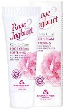 Parfumuri și produse cosmetice Cremă hidratantă pentru picioare - Bulgarian Rose Rose & Joghurt Foot Cream