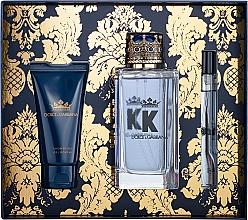 Parfumuri și produse cosmetice Dolce&Gabbana K by Dolce&Gabbana - Set (edt/100ml + sh/gel/50ml + edt/mini/10ml)