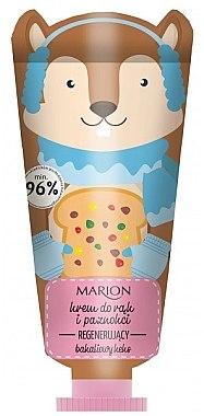 Cremă regenerantă pentru mâini - Marion Funny Animals Hand Cream