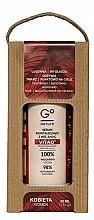Parfumuri și produse cosmetice Ser revitalizant cu vitamine A + E + C - GoNature Revitalising Serum with vit. A+E+C Vitao°