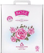 "Parfumuri și produse cosmetice Set cadou pentru femei ""Rose"" - Bulgarian Rose (cr/50ml + cr/50ml + micel wather/150ml + gel/150ml + soap/100g)"