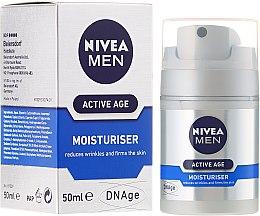 Parfumuri și produse cosmetice Cremă facială anti-aging pentru bărbați - Nivea For Men Aktive Age Moisturiser Cream