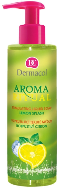 "Săpun lichid ""Lămâia obraznică"" - Dermacol Aroma Ritual Liquid Soap Lemon Splash — Imagine N1"