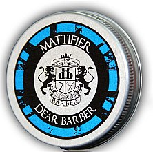 Parfumuri și produse cosmetice Pastă de păr, mată - Dear Barber Mattifier Hair Paste