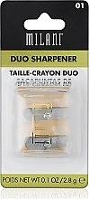 Parfumuri și produse cosmetice Ascuțitoare pentru creioane - Milani Duo Sharpener