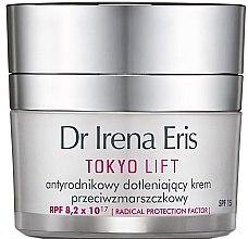 Parfumuri și produse cosmetice Cremă de zi cu efect de netezire pentru față - Dr Irena Eris Tokyo Lift Anti-Wrinkle Radical Protection Oxygen Cream