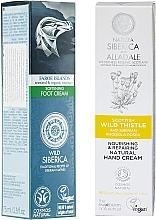 Parfumuri și produse cosmetice Set - Natura Siberica (h/cr/75ml + foot/cr/75ml)