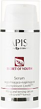Parfumuri și produse cosmetice Ser pentru umplerea ridurilor și întărirea țesuturilor pielii - APIS Professional Secret Of Youth Filling And Tensing Serum