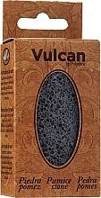 Parfumuri și produse cosmetice Piatră ponce, 84x44x32mm, Dark Grey - Vulcan Pumice Stone