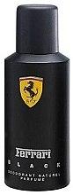 Parfumuri și produse cosmetice Ferrari Black - Deodorant