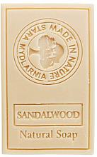 "Parfumuri și produse cosmetice Săpun natural ""Lemn de santal"" - Stara Mydlarnia Body Mania Sandalwood Natural Soap"