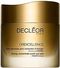 Parfumuri și produse cosmetice Cremă de întinerire pentru zona ochilor - Decleor Orexcellence Energy Concentrate Youth Eye Care
