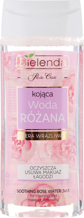 Apă de trandafiri calmantă 3in1 - Bielenda Rose Care Soothing Rose Water