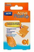 Parfumuri și produse cosmetice Plasture pentru bătături cu acid salicilic - Ntrade Active Plast Special Corn-Cure Plasters For Cutting