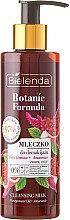 Parfumuri și produse cosmetice Lăptișor de curățare pentru față - Bielenda Botanic Formula Pomegranate Oil + Amaranth Cleansing Milk