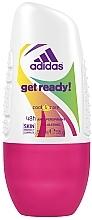 Parfumuri și produse cosmetice Deodorant - Adidas Anti-Perspirant Get Ready Cool&Care 48h