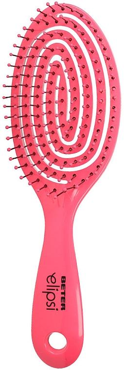 Perie pentru păr scurt, roz - Beter Elipsi Detangling Brush Small Fucsia — Imagine N1