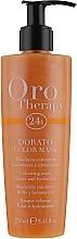 """Parfumuri și produse cosmetice Mască tonifiantă pentru păr """"Aurie"""" - Fanola Oro Therapy Colouring Mask"""