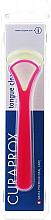 Parfumuri și produse cosmetice Set curățător de limbă CTC 203, roz+ galben - Curaprox Tongue Cleaner