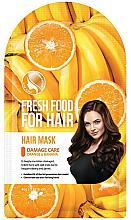 """Parfumuri și produse cosmetice Mască """"Banană și portocală"""" pentru păr deteriorat - Superfood For Skin Fresh Food For Hair"""