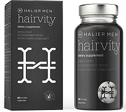 Духи, Парфюмерия, косметика Capsule împotriva căderii părului, pentru bărbați - Halier Men Hairvity Hair Vitamins Anti Hair Loss