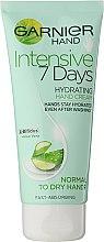 """Parfumuri și produse cosmetice Crema de mâini """"7 zile"""" - Garnier 7 Days Hydration Moisturizing Hand Cream"""