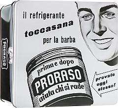 "Parfumuri și produse cosmetice Set - Proraso Classic Shaving Metal White ""Toccasana"" (pre/cr/100ml + sh/cr/150ml + ash/cr/100ml)"