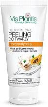 Parfumuri și produse cosmetice Peeling enzimatic pentru față - Vis Plantis Helix Vital Care Enzyme Facial Scrub