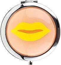 Parfumuri și produse cosmetice Oglindă cosmetică, 85680, galbenă - Top Choice
