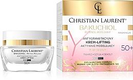 Parfumuri și produse cosmetice Активно-моделирующий крем для лица 50+ - Christian Laurent Bakuchiol Retinol Y-Reshape Lifting Cream