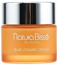 Parfumuri și produse cosmetice Cremă-lifting pentru pielea normală și uscată - Natura Bisse C+C Vitamin Firming Cream SPF 10