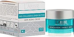 Parfumuri și produse cosmetice Cremă anti-rid cu colagen și unt de shea 55+ - Ava Laboratorium L'Arisse 5D Anti-Wrinkle Cream Bio Collagen + Shea Butter