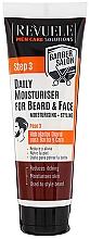 Parfumuri și produse cosmetice Cremă hidratantă pentru barbă și față - Revuele Men Care Barber Daily Moisturizer Beard & Face