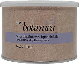 Parfumuri și produse cosmetice Ceară depilatoare, în borcan - Trico Botanica Depil Botanica Talc