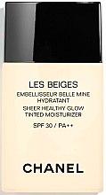 Parfumuri și produse cosmetice Fond de ten - Chanel Les Beiges Sheer Healthy Glow SPF 30/PA++