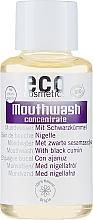 Parfumuri și produse cosmetice Ополаскиватель концентрат для полости рта с экстрактом черного тмина - Eco Cosmetics Mouthwash