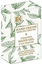 Parfumuri și produse cosmetice Set - Brazil Keratin Tea Tree Oil (h/cream/100ml + h/gel/100ml)