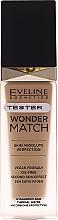 Духи, Парфюмерия, косметика Fond de ten - Eveline Cosmetics Wonder Match (tester)