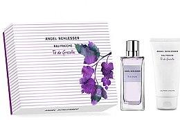 Parfumuri și produse cosmetice Angel Schlesser Eau Fraiche Te de Grosella - Set (edt/100ml + s/g/150ml)