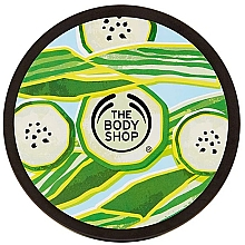 "Parfumuri și produse cosmetice Iaurt pentru corp ""Cool Cucumber"" - The Body Shop Cool Cucumber Body Yoghurt"