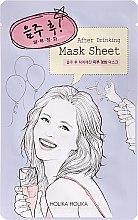 """Тканевая маска для лица """"После вечеринки"""" - Holika Holika After Mask Sheet After Drinking — фото N1"""