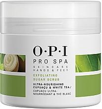 Parfumuri și produse cosmetice Scrub cu cristale de zahăr pentru picioare - O.P.I ProSpa Skin Care Hands&Feet Exfoliating Sugar Scrub