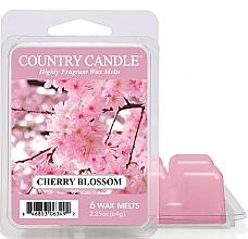 Parfumuri și produse cosmetice Ceară pentru lampă aromată - Country Candle Cherry Blossom Wax Melts