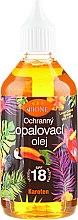 Parfumuri și produse cosmetice Ulei de bronz pentru corp - Bione Cosmetics Oil SPF18