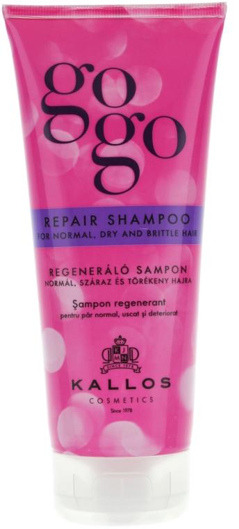 Șampon regenerant - Kallos Cosmetics Gogo Repair Shampoo