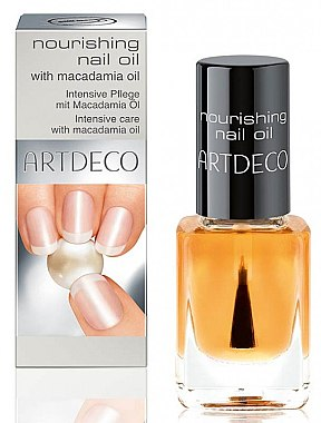 Ulei pentru cuticule și unghii - Artdeco Nourishing Nail Oil With Macadamia — Imagine N1