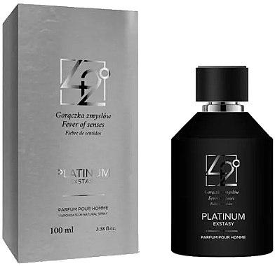 42° by Beauty More Platinum Extasy - Apă de parfum  — Imagine N1