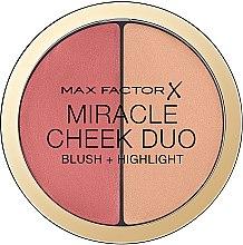 Parfumuri și produse cosmetice Paletă pentru conturarea feței - Max Factor Miracle Cheeck Duo